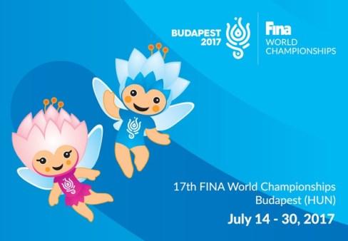 Cartel Mundial de Natación Budapest 2017