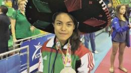 Medalla de Plata Pnamericano de Parataekwondo Costa Rica 2017