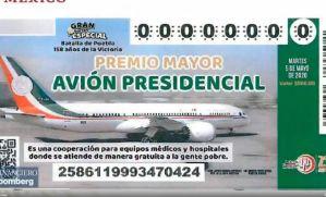 Mañana vuelve a México el avión presidencial