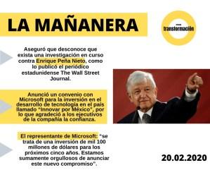 #LaMañanera