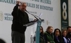 El machismo no cabe en el proyecto de transformación del país, dice López Obrador