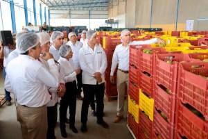 #Oaxaca Inaugura Alejandro Murat, empacadora y comercializadora de mango