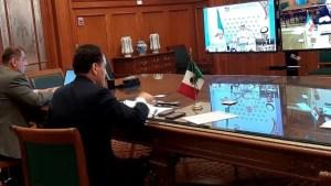 Participa secretario de Hacienda en reunión virtual con ministros de finanzas y gobernadores de bancos centrales del G20