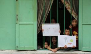 Galería. Niños del mundo dibujan lo que extrañan en la cuarentena