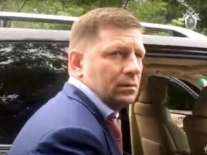 Arrestan a gobernador ruso por asesinato de empresarios