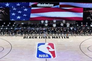 Jugadores de la NBA contra el racismo