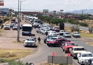 Protestan campesinos en Chihuahua por extracción de agua de presas