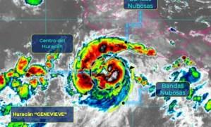 `Genevieve´ es huracán categoria 4, en costas de Manzanillo