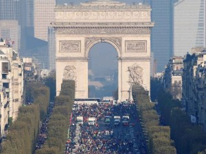 Maratón de París será en 2021