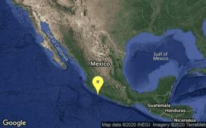 Se registra sismo de 4.8 en Michoacán. Se sintió en CDMX