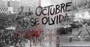 """""""2 de octubre, no se olvida"""", no habrá marcha, sólo mitin"""