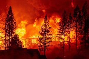 Incendios en California se extienden hasta 40 km en un día