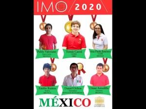 Oro y bronce para México en Olimpiada Internacional de Matemáticas