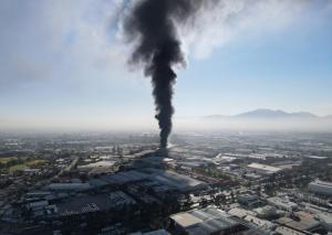 Atienden bomberos y personal de seguridad, incendio en Cuautitlán Izcalli