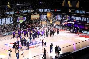 Lakers, campeón de la NBA