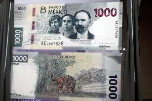 Presenta Banxico nuevo billete de 1000 pesos