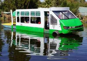 En Xochimilco tienen su «Micro-trajinera»