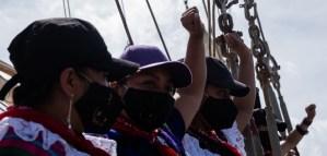 Partió rumbo a Europa, delegación del EZLN