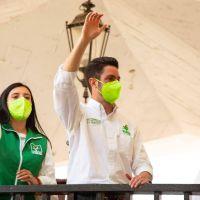 Arranca campañas con fuerza el Partido Verde en Nicolás Romero, Edomex