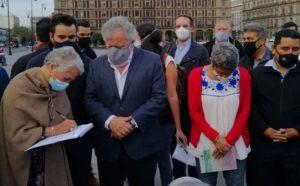 Madres de desaparecidos reprochan indiferencia de AMLO