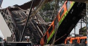 Inicia retiro de escombros del derrumbe en la Línea 12