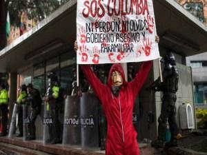¿Por qué hay protestas violentas en Colombia?