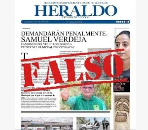 Fake News en Edomex unas horas antes de la elección
