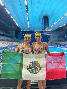 Buscarán oro nadadoras mexicanas, avanzan a la final