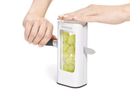 Gadget para cortar las uvas.