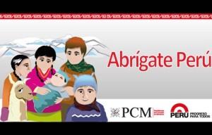 """Sitio """"Abrígate Perú"""", contiene información sobre prevención."""