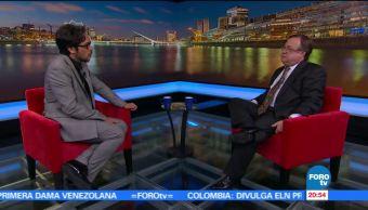 Genaro Lozano entrevista al Embajador de Argentina Daniel Chuburu