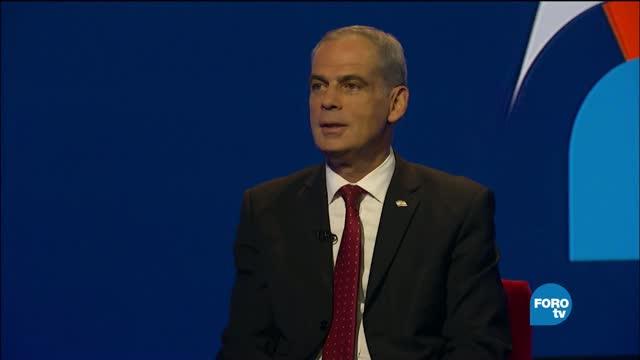 Genaro Lozano entrevista al Embajador de Israel Jonathan Peled