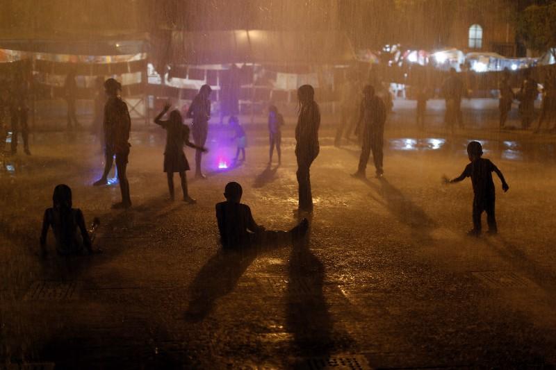 Después de meses de las desapariciones, se inauguró una fuente afuera del palacio de gobierno de Iguala. Tanto miembros oficiales como del crimen organizado están involucrados en este evento que representa la brutalidad del narcotráfico. Esta desaparición es una parte, pues suceden desapariciones en México que no han sido denunciadas.