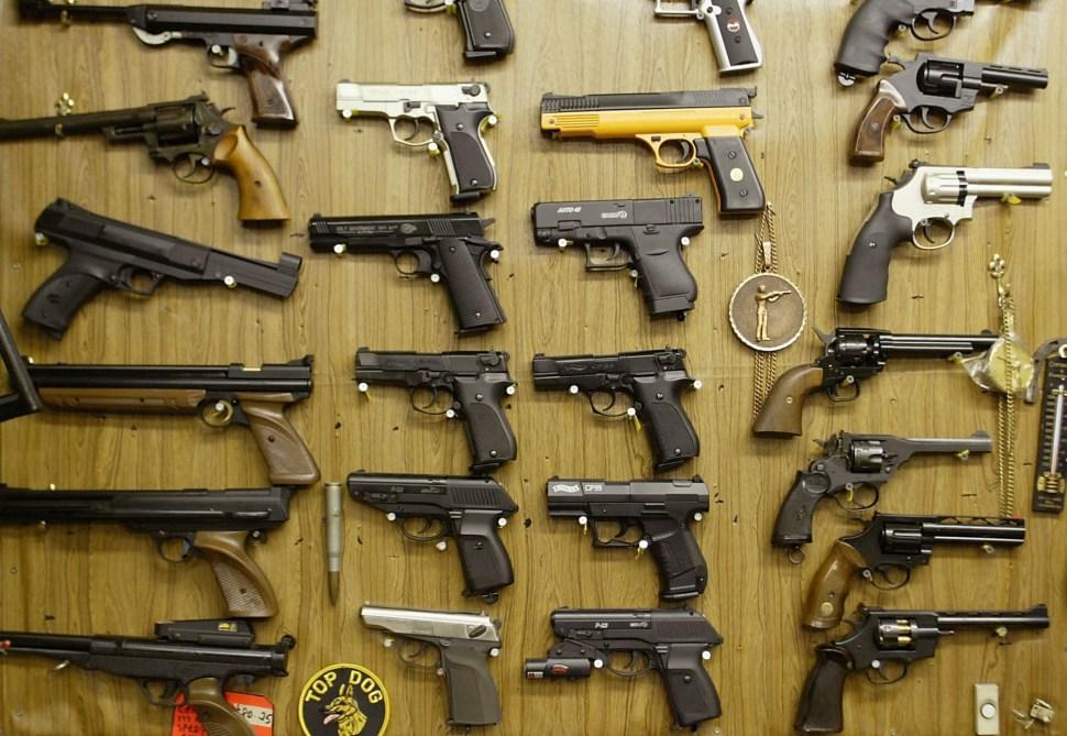 Venta de armas.