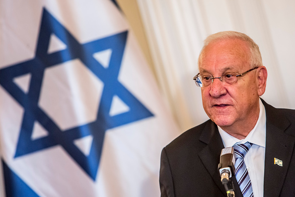 Reuven Rivlin, presidente de Israel. (Getty Images, archivo)