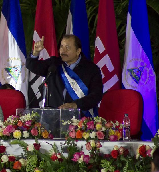 Daniel Ortega, presidente de Nicaragua. (AP, archivo)