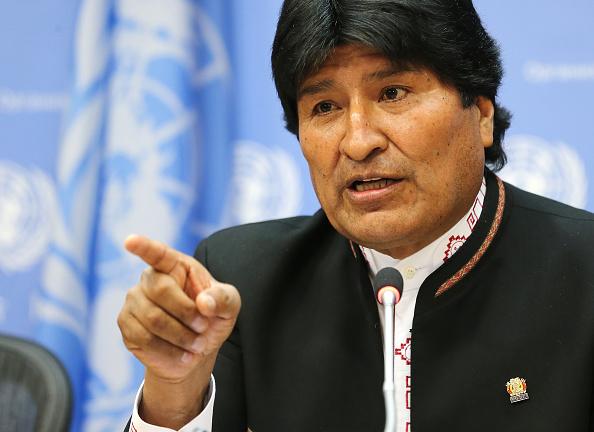 Evo Morales, presidente de Bolivia; hace una invitación al gobierno de México. (Getty Images, archivo)