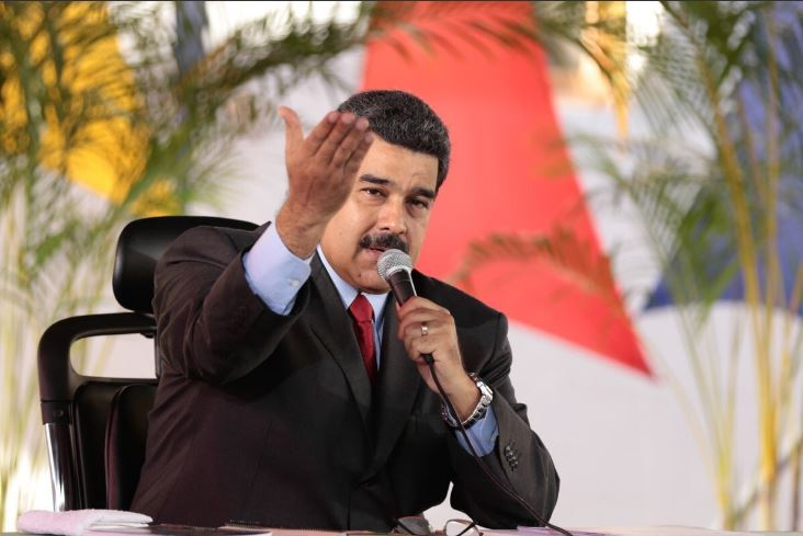 Nicolás Maduro, presidente de Venezuela. (@NicolasMaduro, archivo).