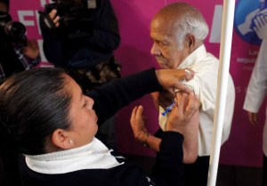 CDMX aplica más de un millón de vacunas contra la influenza