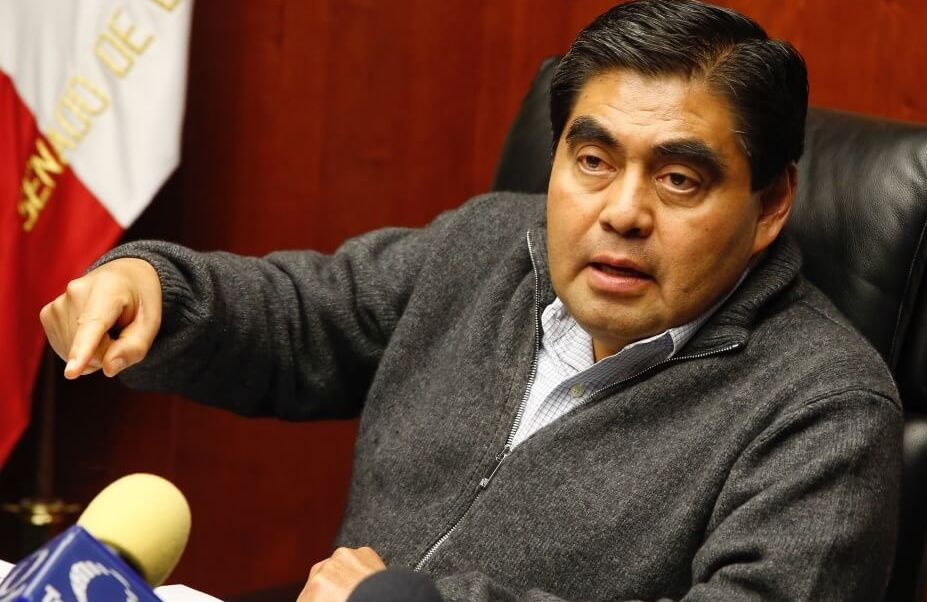 Luis Miguel Barbosa, senador del PRD. (@MBarbosaMX)