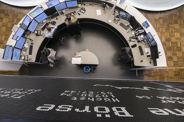 Bolsa de Frankfurt (Getty Images)