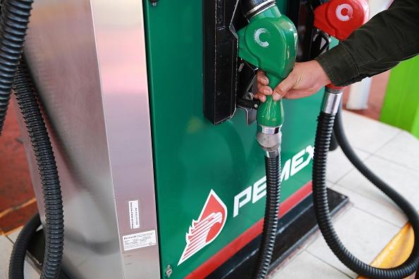 Bomba de gasolina de Pemex. (Getty Images, archivo)