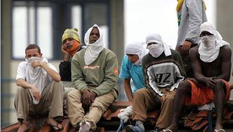 Fuga de 40 presos provoca motín con rehenes en cárcel de Brasil