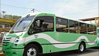 Fotografía que muestra un camión de transporte público en la Ciudad de México. (Noticieros Televisa)