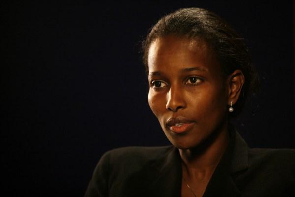 La activista Ayaan Hirsi Ali, escritora de la película Submission.