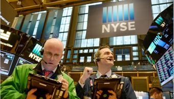 Corredores de la Bolsa de Nueva York, (Getty Images)