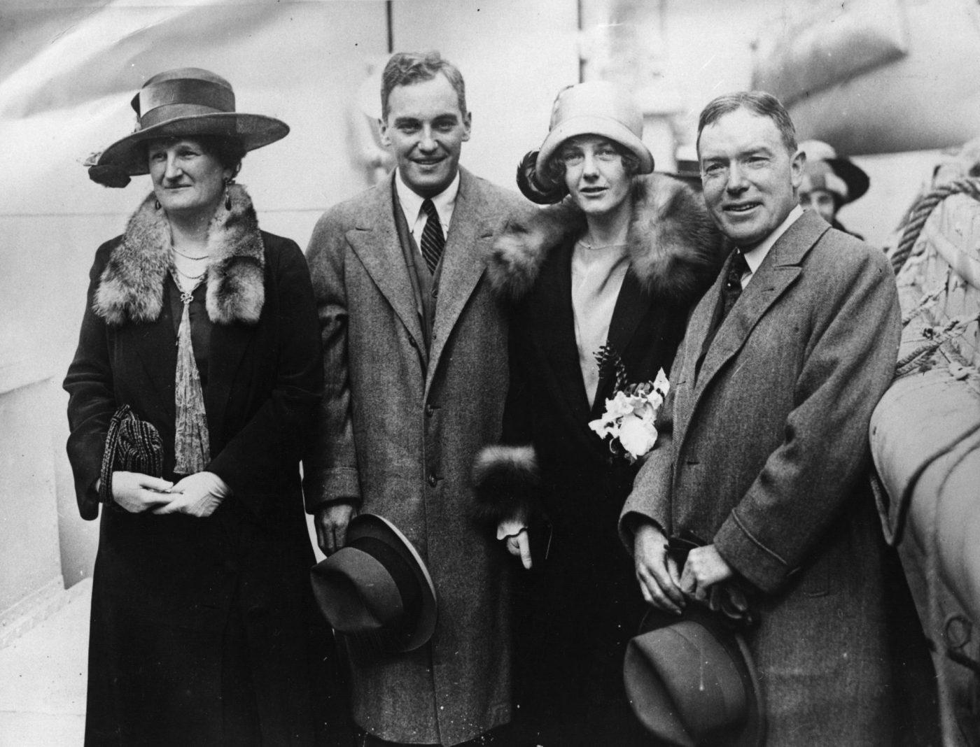 Miembros de la familia Rockefeller.