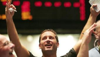 Operador del industrial Dow Jones (Getty Images)