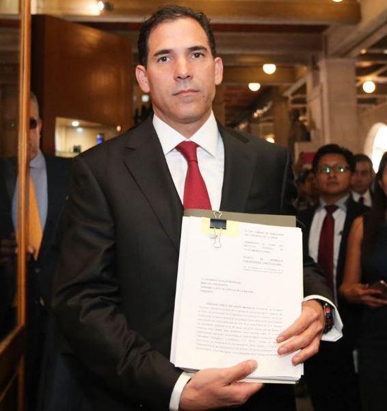 Pablo Escudero, presidente del Senado, argumentó que los lineamientos del IFT violan la libertad de expresión (Twitter/@Pabloescuderom)