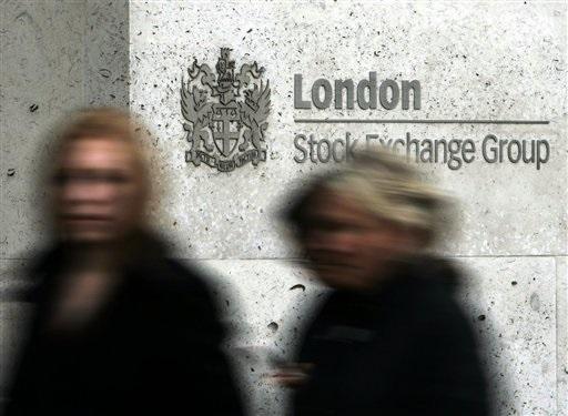Bolsa de Londres (AP)